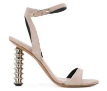 screw heel sandals