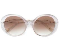 Sonennbrille mit runden Gläsern