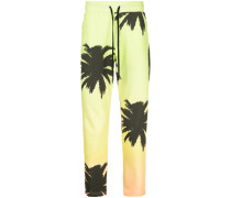 Jamaica print track trousers