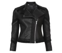 fringed moto jacket