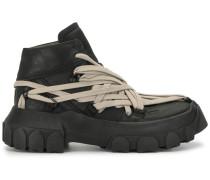 Zweifarbige Sneakers