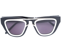 contrast-trim sunglasses