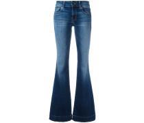 'Love Story Back Heel Destruction' Jeans