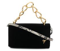 chunky chain clutch bag