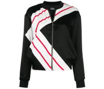 K-Stripe bomber jacket