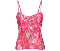 floral print bikini top - Unavailable