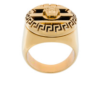 3D Greek Key Medusa ring