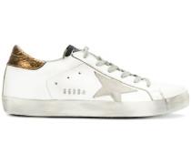 'Super Star' Sneakers mit Metallic-Effekt