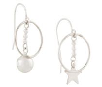 Sun and Star earrings