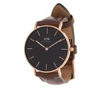 Classic Black Bristol watch