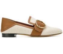 Lottie buckle detail loafers
