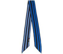 striped skinny scarf