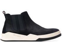 Chelsea-Boots mit Kontrastsohle