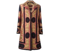 Mantel mit geometrischem Print