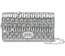 'Miu Crystal' Matelassé-Portemonnaie