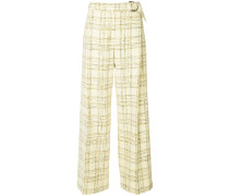 checked Chelsea trousers
