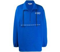 Oversized-Sweatshirt mit Reißverschluss