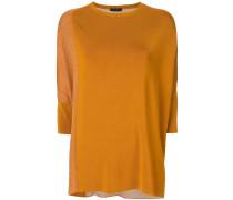 Pullover mit bedrucktem Einsatz