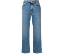 Jeans mit Boyfriend-Schnitt