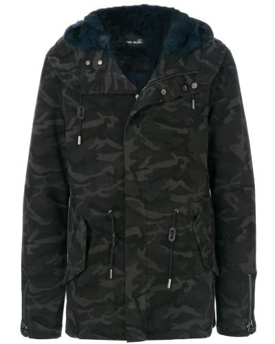 Jacke in Camouflage-Optik