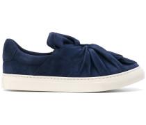 Slip-On-Sneakers mit überkreuztem Detail