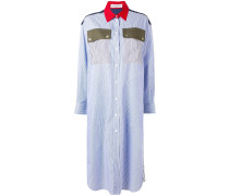 Gestreiftes Hemdkleid