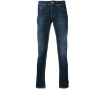 Jeans mit halbhohem Bund
