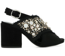 embellished open-toe sandals