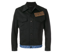 FF logo denim jacket