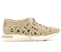 Sneakers mit Schnürsenkel-Design