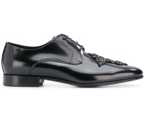 Cameron Swarovski cross derby shoes