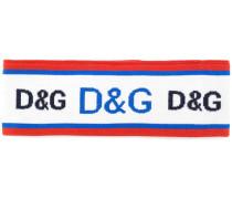 Stirnband mit Intarsien-Logos