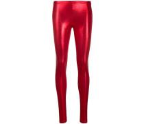 Leggings im Metallic-Look