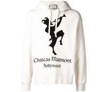 Sweatshirt mit Chateau Marmont-Print