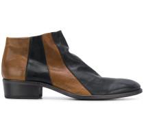Zweifarbige Stiefel