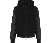 Reversible Diamond Quilted Hooded Jacket