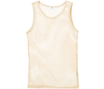 net fitted tank top