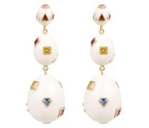 mammoth eggs jewel encrusted earrings
