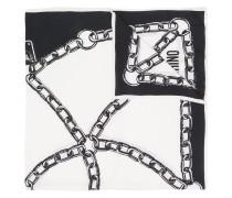 Halstuch mit Ketten-Print