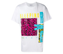 T-Shirt in Colour-Block-Optik