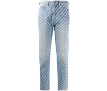 D-Eiselle high-rise straight jeans