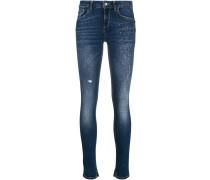 Skinny-Jeans mit Nieten