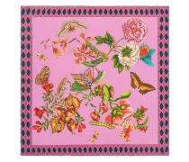 Garden Chains print silk scarf