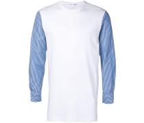 Sweatshirt mit Hemdärmeln