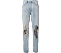 Gerippte Jeans
