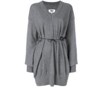Pullover mit Taillenband