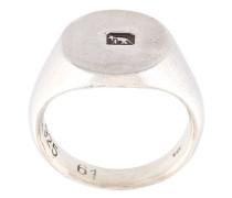 'Hallmarked Signet' Ring aus Sterlingsilber