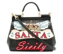 Mini-Tasche mit ''Sicily''-Print