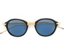 Runde Sonnenbrille aus 18kt Gold
