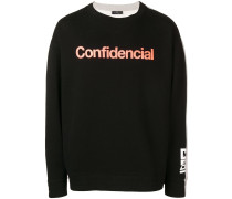'Confidential' Sweatshirt
